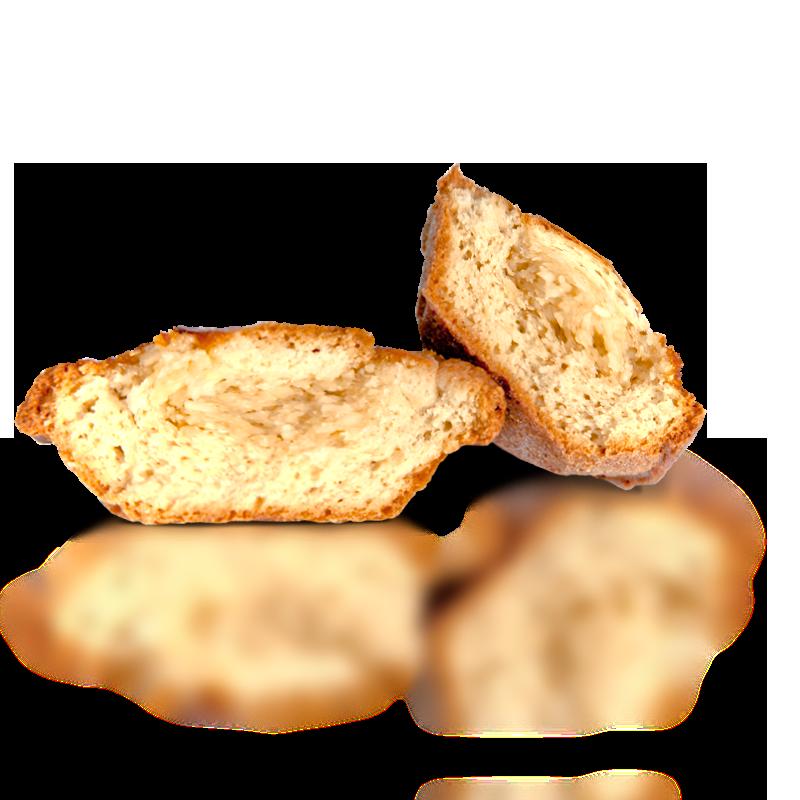 Bocconotto alla mandorla + Bocconotto alla ciliegia – Cartone assortito da 60 pezzi