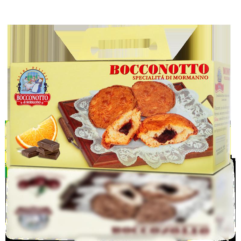 Bocconotto arancia e cioccolato – Astuccio 6 pezzi