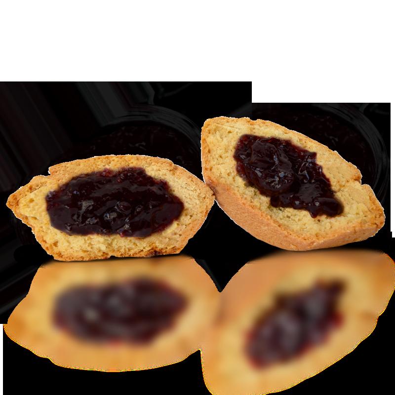 Bocconotto ai frutti di bosco – Astuccio 6 pezzi